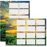 At-A-Glance Successories Horizontal/Vertical Wall Calendar PMW83B-28