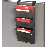 Deflect-o 3-Pocket Hanging Wall File Folder System