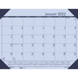 House of Doolittle 12473 Compact Calendar Desk Pad - 12473