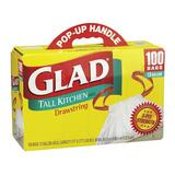 Glad Tall Kitchen Drawstring Trash Bag
