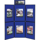 QRTSB93516Q - Quartet® Show-It!® 6-Panel Displa...