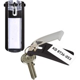 Durable Key Tag - Plastic - Black