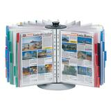 Durable Desktop Rotary Display Panel System - 50 Panels - Assorted