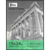 Burnes Black U-Channel Poster Frame