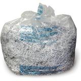 Personal Shredder Bags, 100/Roll, Clear  MPN:1765016