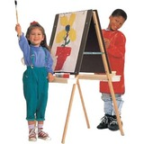 Quartet Double Panel Easel Stand