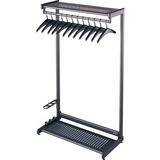 Quartet - Two Shelf Garment Rack - 20222