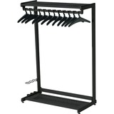 Quartet - Two Shelf Garment Rack - 20224