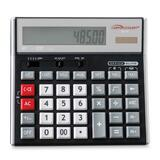Compucessory Simple Calculator - 12 Character(s) - LCD - Solar, Battery Powered - 1.5' x 7' x 6'