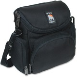 Camcorder/Digital Camera Case, Nylon, 7-1/8 x 4-1/8 x 7-1/4, Black  MPN:AC250