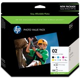 HP No. 02 Series Photo Value Pack - Q7964AN