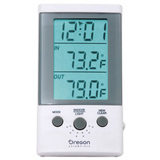 Oregon Scientific Thermometer Clock with Wired Probe