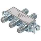 Steren 4-Way Mini Splitter - 4-way - 900MHz - Signal Splitter