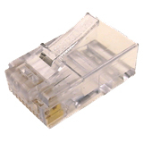 Cables Unlimited 100Pk Cat6 2 Piece Connector