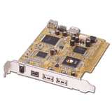 SIIG NN-8US212-S2 8-port USB/FireWire PCI Adapter