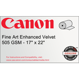 Canon Fine Art Water Resistant Canvas Paper