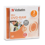 Verbatim 2x DVD-RAM Double Sided Media - 95429