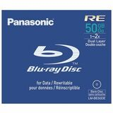 Panasonic 2x BD-R Double Layer Media
