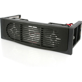 5.25 Front Bay Mount Dual Fan HDD Cooler - FANDRIVE2BK