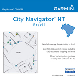 Garmin City GPS Brazil NT Digital Map