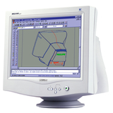 Philips Electronics 107P20 Brilliance 107P20 Flat-CRT Monitor