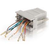 C2G RJ45/DB15F Modular Adapter 02925