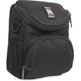 Camcorder/Digital Camera Case, Nylon, 5 x 3-1/2 x 6-5/8, Black  MPN:AC220