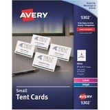 Avery Laser/Inkjet Embossed Tent Card - 5302
