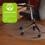 Floortex Hardwood Contoured Chair Mat