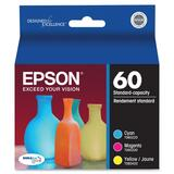 Epson Multi-Pack Color Ink Cartridges T060520-S
