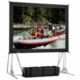 "Da-Lite Fast-Fold Projection Screen - 136.8"" - 1:1 - Portable 84824"