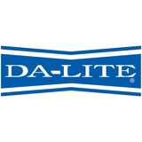 Da-Lite Class-Mate Map Rail Manual Wall and Ceiling Projection Screen
