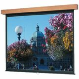Da-Lite Designer Manual Wall and Ceiling Projection Screen (Veneer Hamilton Case)