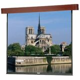 Da-Lite Designer Electrol Cherry Veneer Projection Screen