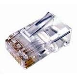 Cables Unlimited 100Pk RJ45 Solid Connector