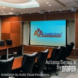 "Draper Access Electric Projection Screen - 120"" - 1:1 102169"