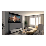 """Draper Access MultiView 106003 Electric Projection Screen - 123"""" - 16:9 - Ceiling Mount 106003"""
