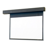 """Draper Rolleramic Electric Projection Screen - 247"""" - 4:3 - Wall Mount, Ceiling Mount 115031"""