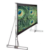 Draper Truss-Style Cinefold Portable Projection Screen
