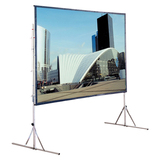 Draper Cinefold Complete with Standard Legs Portable Projection Screen 218014