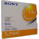 "Sony 5.25"" Magneto Optical Media EDM1300C"