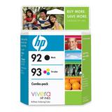 HP 92/93 Combo Pack Color Ink Cartridge