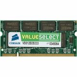 Corsair PC2-5300 1Gb 1X1GB DDR2-667 200PIN SODIMM Memory.