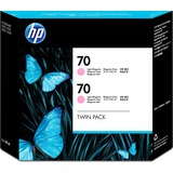 HP 70 Twin Pack Light Magenta Ink Cartridge CB346A