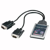 B&B 2 Port DB-9 RS-232 Multiport Serial Adapter DSPR-100