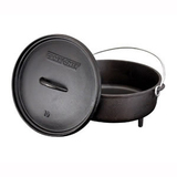 Camp Chef Classic 10' Seasoned Cast Iron Dutch Oven