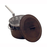 Camp Chef Seasoned Cast Iron Pot (Set)