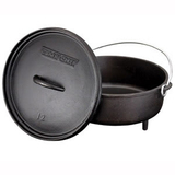 "Camp Chef Classic 12"" Cast Iron Dutch Oven - SDO12"