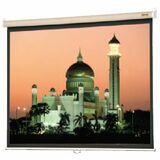 Da-Lite Designer Model B Manual Wall and Ceiling Projection Screen (Pepper Gray Fabric Case)