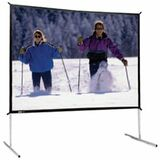 "Da-Lite Fast-Fold Deluxe Projection Screen - 124.5"" - 16:9 - Portable 88689"